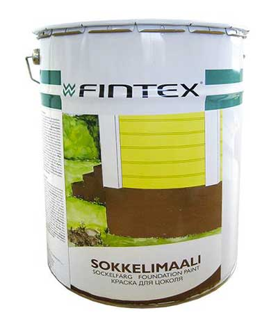 купить краску для цоколя fintex