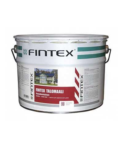 Краска для деревянных домов fintex