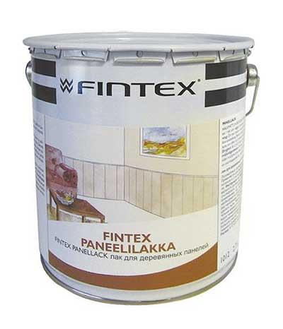 купить лак для пола и дерева fintex