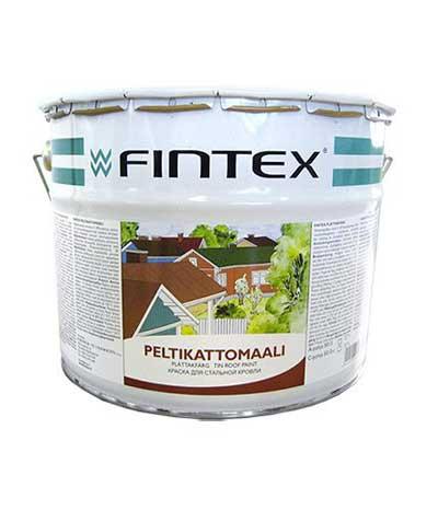 купить финскую краску для стальной кровли fintex